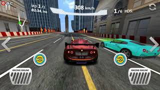 Sports Car Racing / Moḃile Racing Game Simulator / Android Gameplay FHD #6