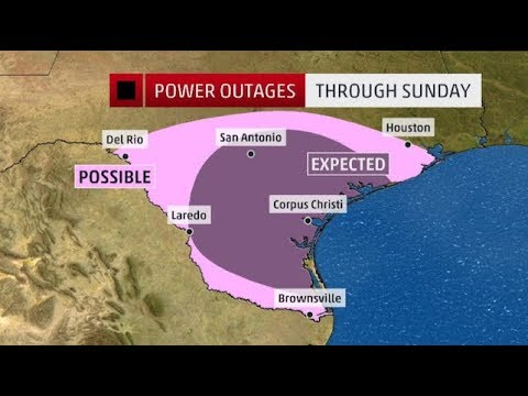 Hurricane Harvey -1000 year storm : Power Outages/Biblical Flood