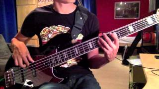 Manic Street Preachers - Motorcycle Emptiness (Bass Cover)