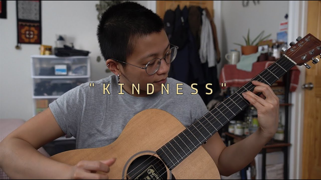"""Kindness"" for Mumford & Sons #WhiteBlankPage"