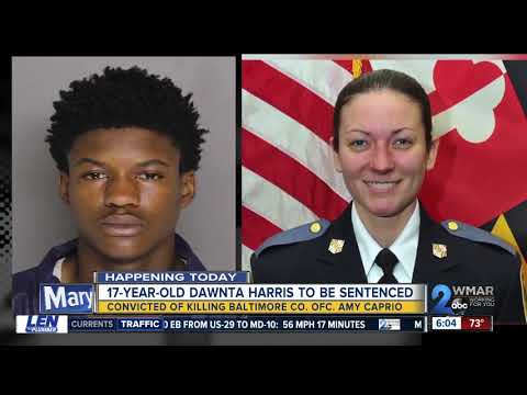Teen convicted of killing a Baltimore County police officer to be sentenced Wednesday