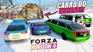 O CARRO ABANDONADO DE INVERNO!! - FORZA HORIZON 4