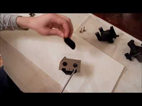 Переборка электромагнитных клапанов печки на примере мерседес w 124 (яйца)