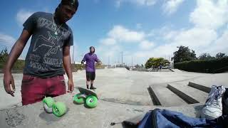 freeline skating at skatepark near expo jmk ride and amazon