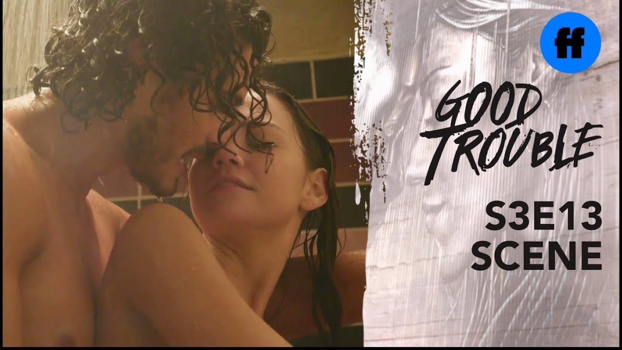 Download Good Trouble Season 3, Episode 13   Callie and Gael's Steamy Shower Scene   Freeform