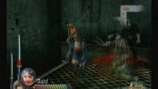 Onechanbara Bikini Zombie Slayers - Wii Saki Free Play Mode Part 1