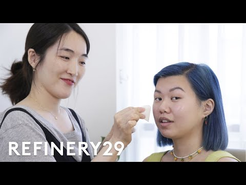 BLACKPINK's Makeup Artist Does My Makeup | With Mi | Refinery29