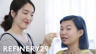 BLACKPINK's Makeup Artist Does My Makeup | With Mi | Refinery29