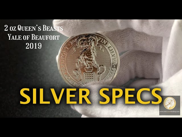 Silver Specs- 2 oz Queen's Beasts Yale of Beaufort 2019
