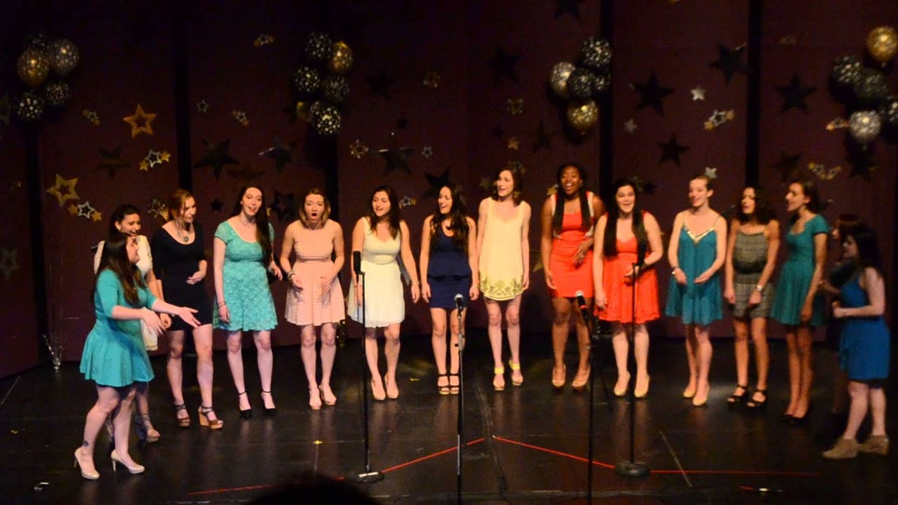 Chandelier- A Cappella Fest 2015 - YouTube