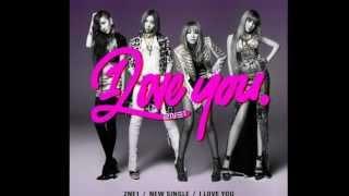 2NE1: I Love You Male Version {MP3+DL}