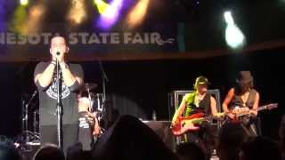Scott Stapp of Creed Live: Only One (Minnesota State Fair - 8/25/14)