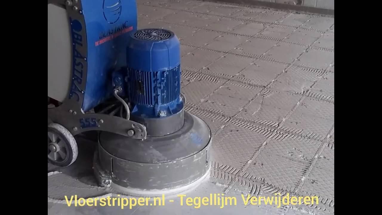 Voorkeur Vloerstripper.nl - Tegellijm verwijderen - YouTube AA42