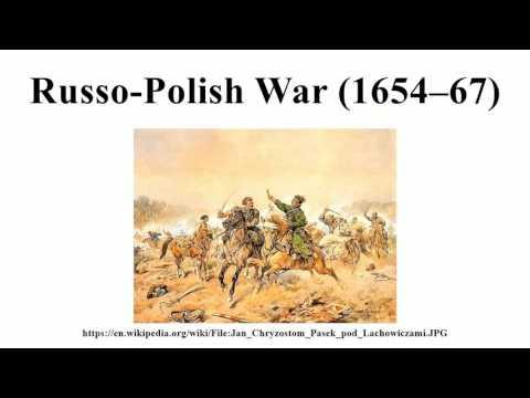 Russo-Polish War (1654–67)