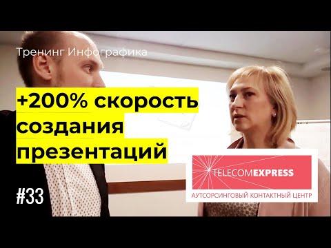 """Отзыв о тренинге """"Инфографика"""". Компания Телеком-Экспресс, г. Челябинск"""