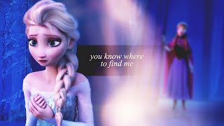 FROZEN | you know where to find me