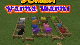 Cara Mewarnai Domba di Minecraft PE