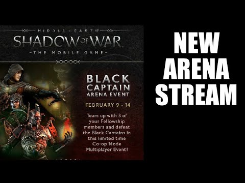 Middle Earth: Shadow of War Mobile- New Arena & Failing at W