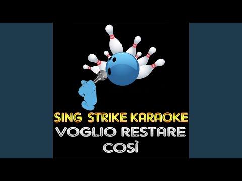 Voglio Restare Così (Karaoke Version) (Originally Performed By Andrea Bocelli)