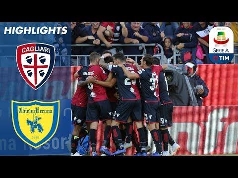 Cagliari 2-1 Chievo | Pavoletti And Castro Down Chievo | Serie A