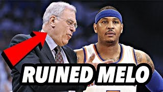 Meet The Man That RUINED Carmelo Anthony's Career!