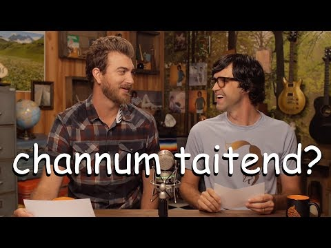 rhett and link trying to speak for 5 more minutes straight