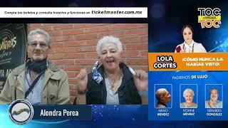 Lolitra Cortes dice Aleluya