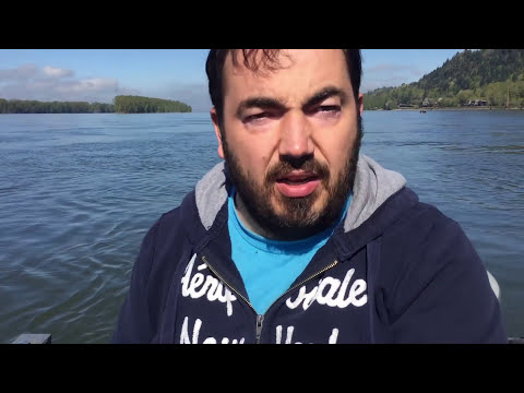 Spring Chinook Salmon fishing on the Columbia River, Oregon March 21, 2017.