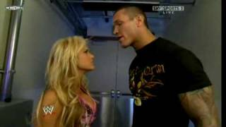 Kelly Kelly and Randy Orton Segment