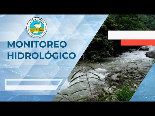 Monitoreo Hidrológico, Viernes 3-07-2020, 7:30 horas