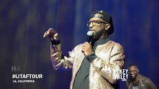 Rickey Smiley At His First Stop On Martin Lawrence's LIT AF Tour