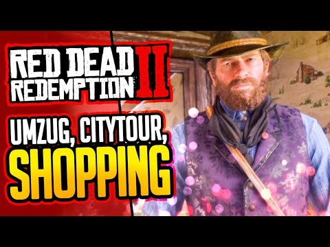 RED DEAD REDEMPTION 2 😈 003: HARTE Kerle, SMARTE Outfits