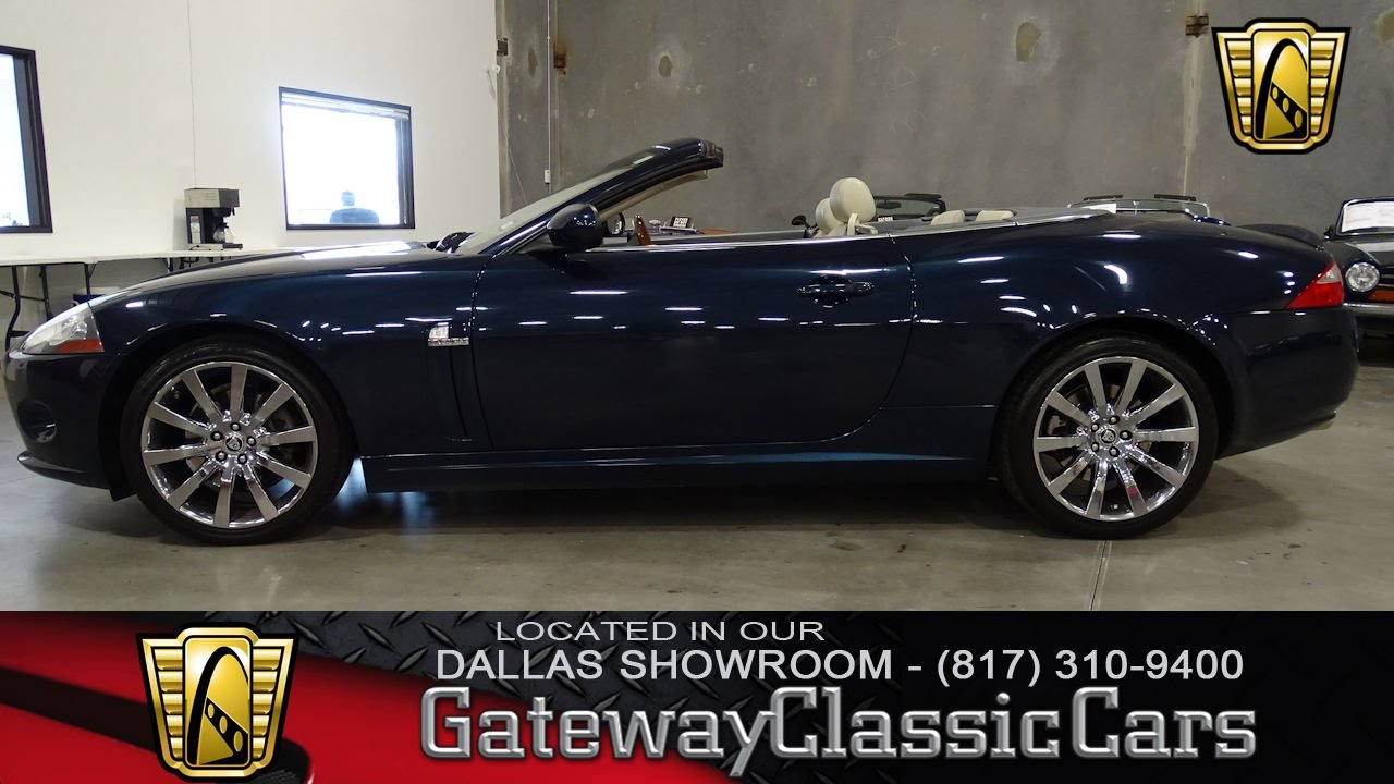 2007 Jaguar XK Convertible #392 DFW Gateway Classic Cars Of Dallas