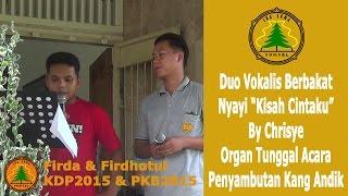 Duo FIR Nyanyi Kisah Cintaku By Chrisye di Organ Tunggal Acara Penyambutan Kang Andik