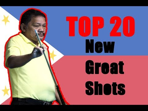 "Thumbnail: ""The Magician"" Efren Reyes!!! Top 20 New Great Shots P2"