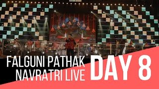 pushpanjali navratri with falguni pathak day 8