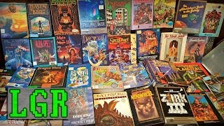 LGR – My Best Retro PC Game Haul? Maybe!