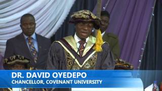 COVENANT UNIVERSITY CONVOCATION CEREMONY 2015