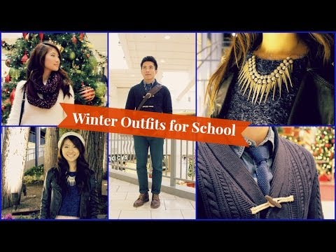 Winter Outfit Ideas For School 2014