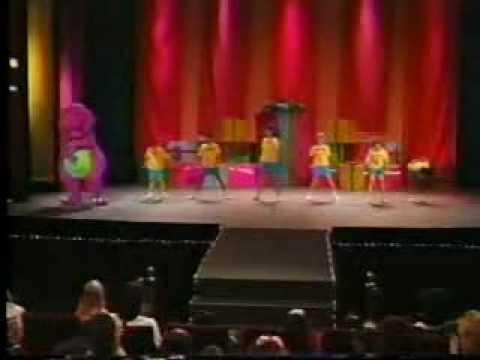 Barney en Concierto (Parte 1) - YouTube