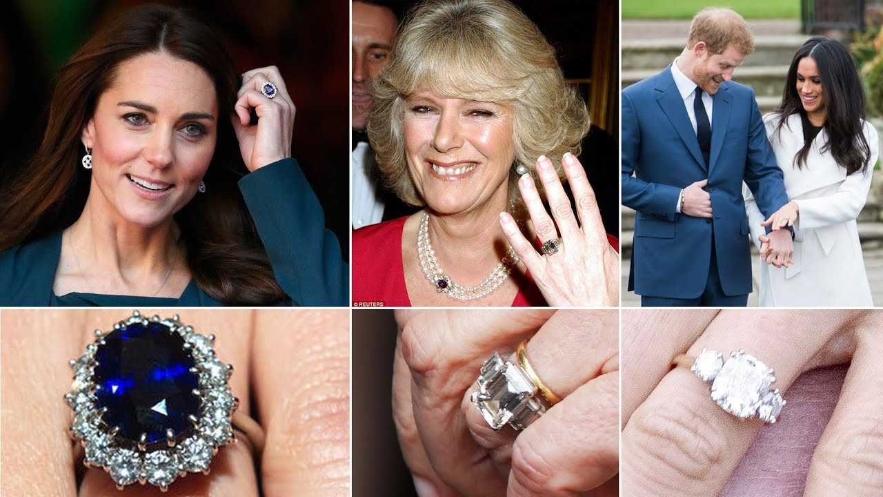 Why Is Kate S Engagement Ring More Expensive Than Markle S Camilla Youtube