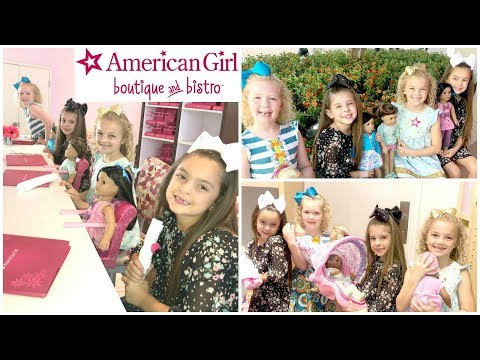 AMERICAN GIRL DOLL Store TWINS BIRTHDAY Party! | Our FIRST Time To The AG STORE!
