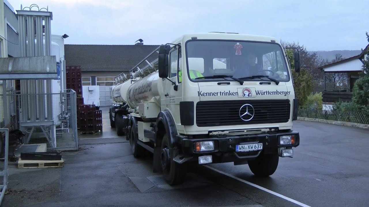 Hommage an den Tankzug Mercedes-Benz 2228 L 6x2 / Tribute to the tank truck  Mercedes-Benz 2228 L 6x2