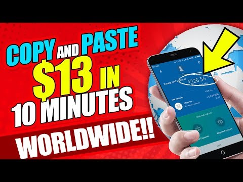🔥 Earn $13 in 10 Minutes FREE! Copy and Paste (Make Money Online 2020!)