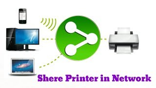 Shere Printers with Two or more computer/Laptop or mobile in Network