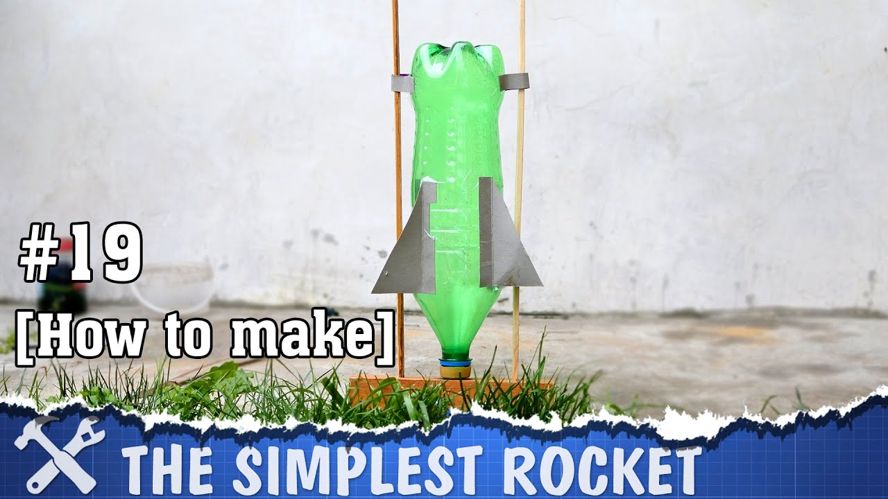 The simplest diy rocket ever youtube solutioingenieria Image collections