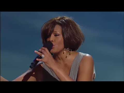 Whitney Houston & Kim Burrel _ I Look to You _ HD 720p