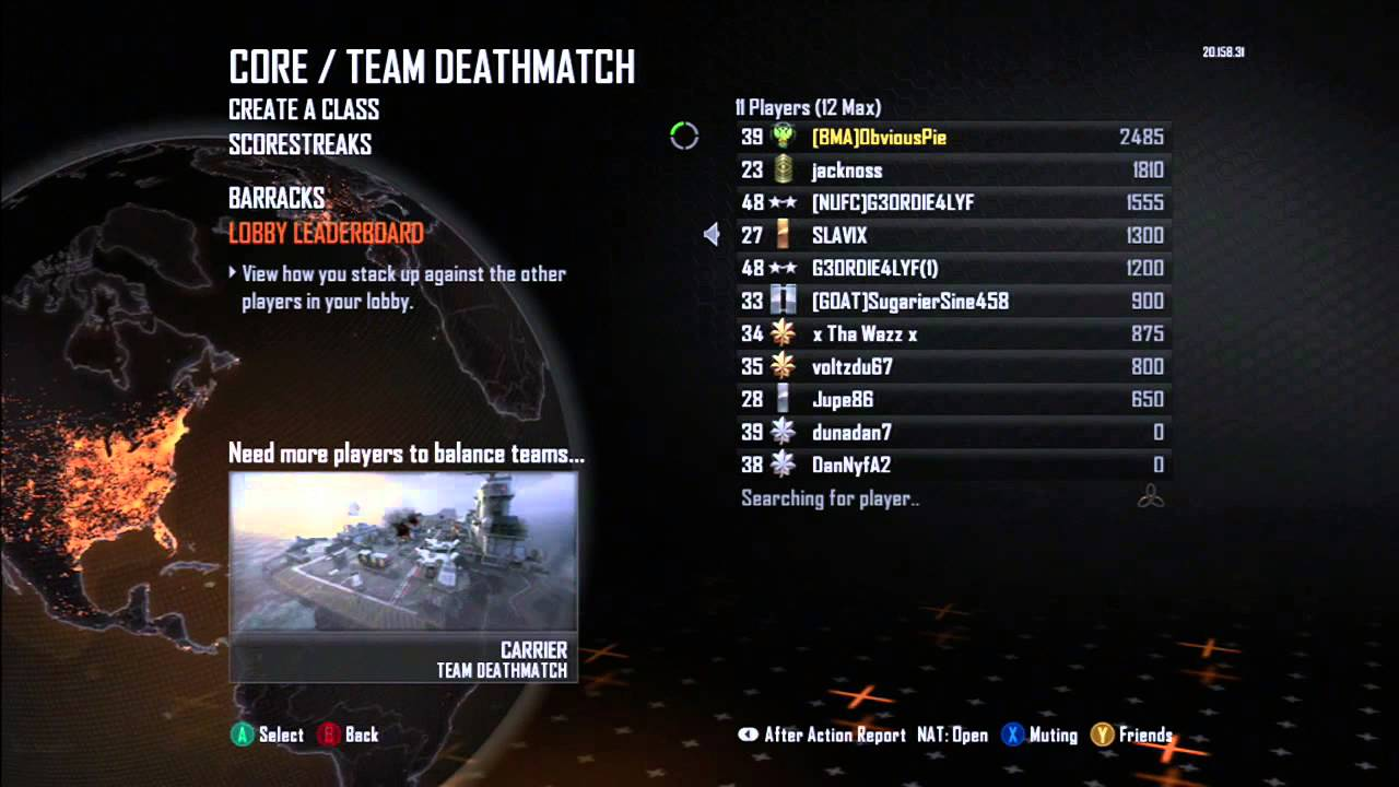 Black ops 2 matchmaking glitch