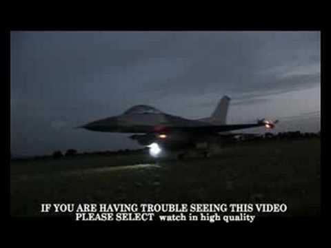 RC JET night flight  (lucky no crash)