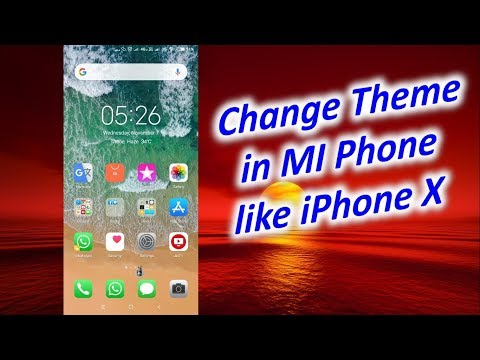 Download Make Any Xiaomi Phone Look Exactly Like Iphone X Iphone X 8